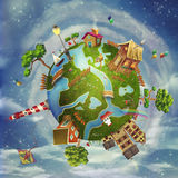 Friendly small Planet Royalty Free Stock Photography