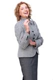 Friendly Smiling Business Woman Royalty Free Stock Images
