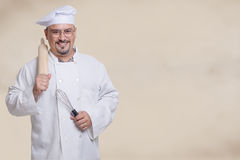Friendly, Smiling Chef Royalty Free Stock Image