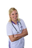 Friendly smiling doctor Royalty Free Stock Photography