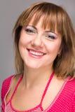 Friendly smiling woman Stock Photo