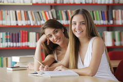 Friendly students Stock Photos