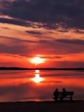 Friendly Sunset Royalty Free Stock Photos