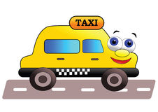 Friendly taxi Stock Photo
