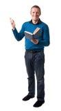 Friendly teacher Stock Image