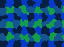 A friendly team of dark blue, green abstractions make up a creative background for the computer screen, phone, tablet. royalty free stock photos