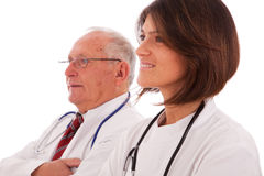 Friendly team doctors Royalty Free Stock Image