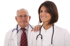 Friendly team doctors Stock Images