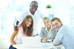 Friendly team Royalty Free Stock Photography