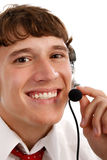 Friendly Tech Support Guy Closeup Royalty Free Stock Photo