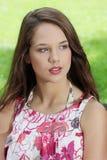 Friendly teen girl Royalty Free Stock Photo