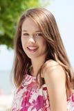 Friendly teen girl Stock Photography