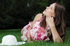 Friendly teen girl Stock Image