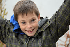 Friendly teenager boy Royalty Free Stock Photography