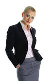 Friendly woman Stock Photography