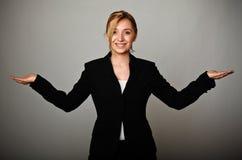 Friendly woman Stock Photos
