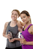 Friendly workout Stock Photography