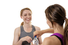 Friendly workout Royalty Free Stock Images