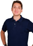 Friendly young man. A Friendly smiling young man Royalty Free Stock Image