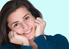 Friendly young woman Royalty Free Stock Image