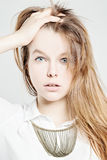 Friendly Young Woman Royalty Free Stock Images