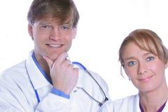 friendly, zespół medyczny Obrazy Royalty Free