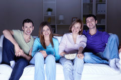 With Friends Royalty Free Stock Images