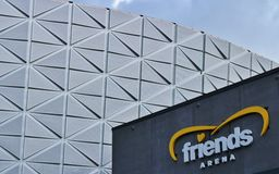 Friends Arena Stock Image