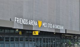 Friends Arena Royalty Free Stock Photos