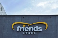 Friends Arena Royalty Free Stock Photo