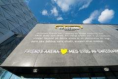 Friends Arena in Stockholm Stock Images