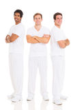 Friends arms crossed Royalty Free Stock Photos