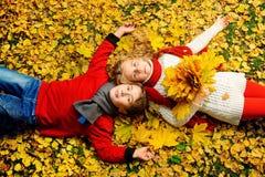Friends autumn Stock Photos