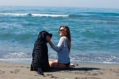 Friends on the beach Stock Photo
