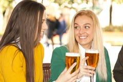 Friends beer Stock Image