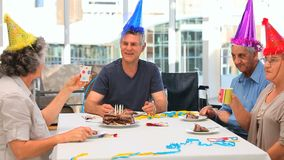 Friends on Birthday Royalty Free Stock Image