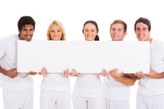 Friends blank banner Stock Image