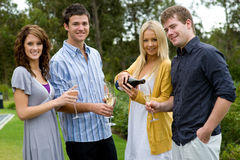 Friends Celebrating Royalty Free Stock Photo