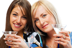 Friends celebrating Royalty Free Stock Image