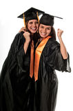 Friends celebrating graduation Stock Images
