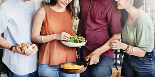 Friends Chef Cook Cooking Concept Royalty Free Stock Photo