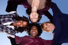 Friends Circle Stock Photo
