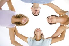 Friends' circle Stock Photos