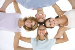 Friends' circle Royalty Free Stock Image