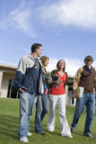 Friends At College Campus Royalty Free Stock Images