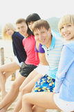 Friends company Royalty Free Stock Images