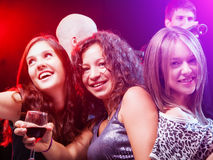 Friends Dancing at the party Royalty Free Stock Photo