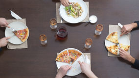 Friends Eating Together Stock Photography