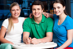 Friends enjoying their day out Stock Photography