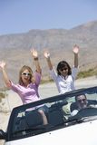 Friends Enjoying Their Journey Royalty Free Stock Photography